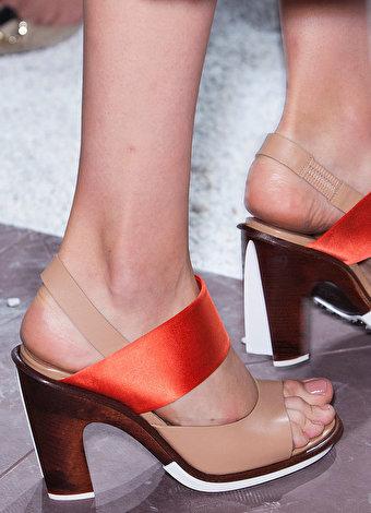 2015 Ilkbahar-yaz ayakkabı trendleri